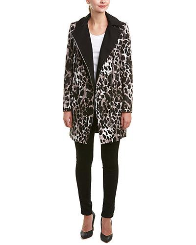 Karen Millen Giraffe-Print Coat