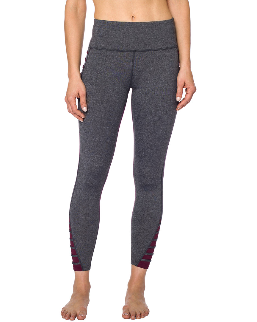 Betsey Johnson CONTRAST BANDED LEGGING