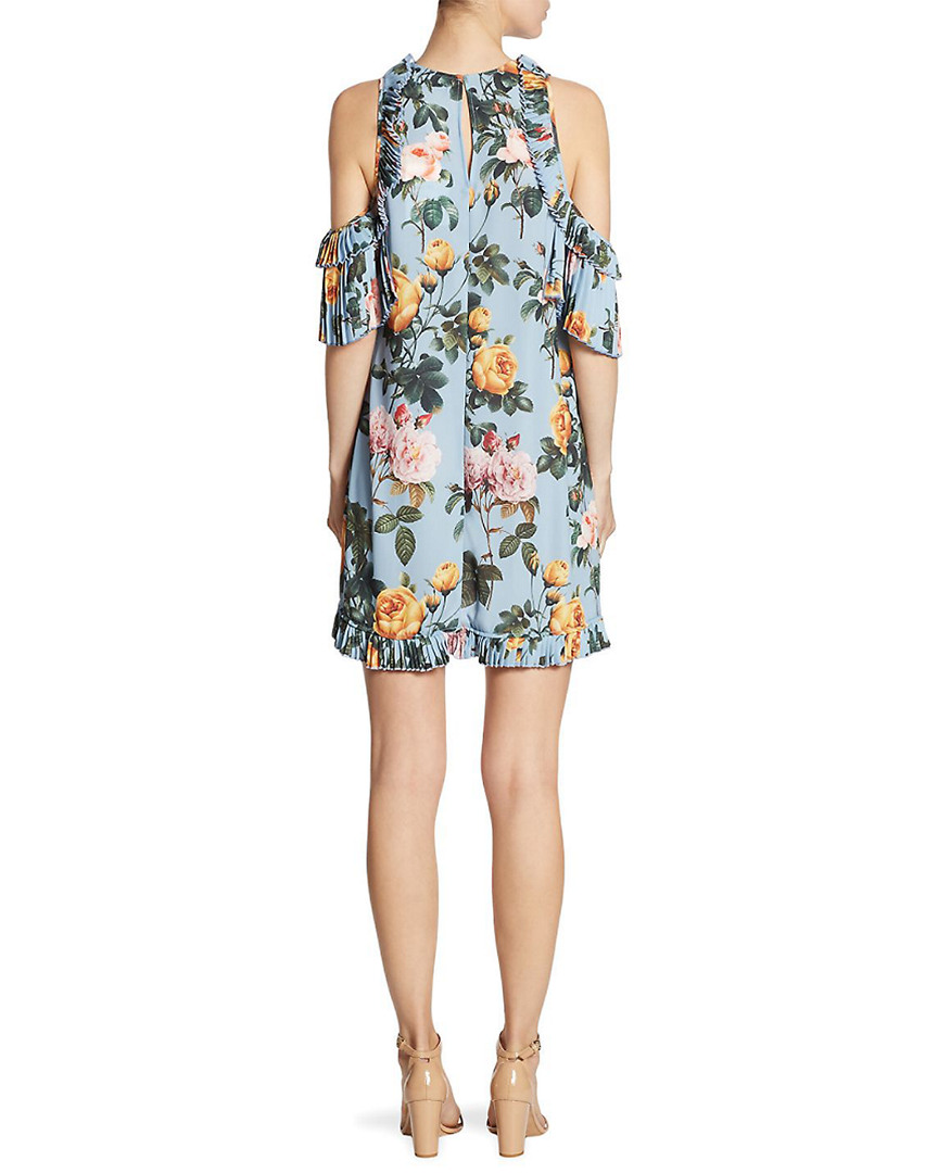 Delfi Collective Collective Collective Minnie Cold-Shoulder Floral-Print Dress 3e71a7