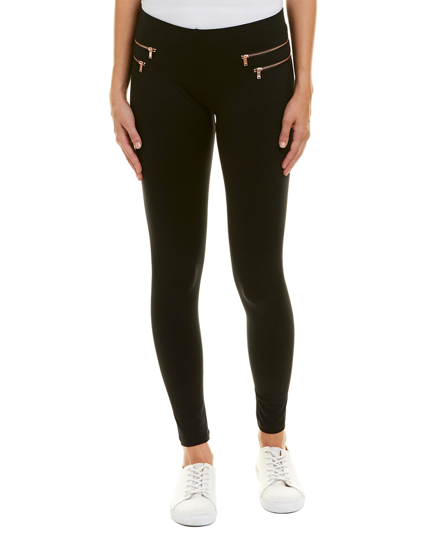 David Lerner DOUBLE POCKET SPLIT LEGGING
