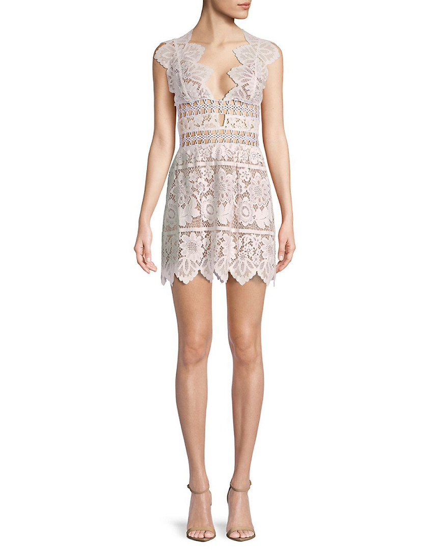 For Love & Lemons FOR LOVE & LEMONS MON CHERI MINI DRESS