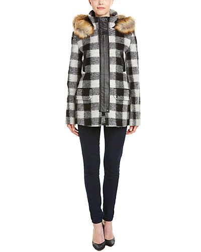 Joie Roni River Wool-Blend Jacket