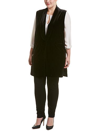 Joan Vass Plus Vest