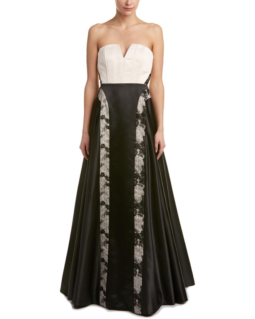 Alice + Olivia Silk-Blend Gown | eBay