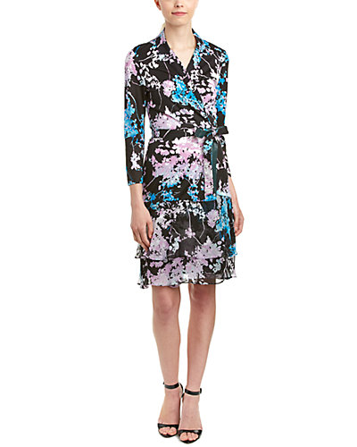 Diane von Furstenberg Cathy Silk Wrap Dress