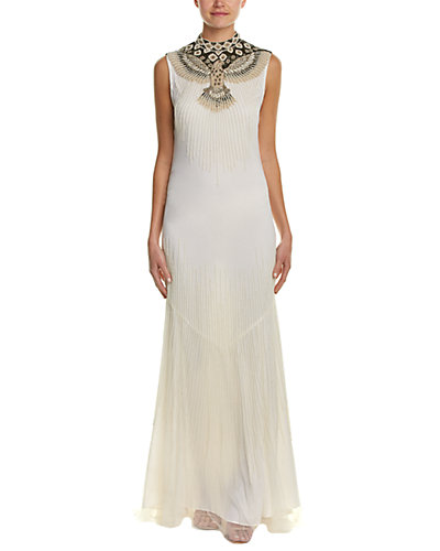 Haute Hippie Embellished Mermaid Gown