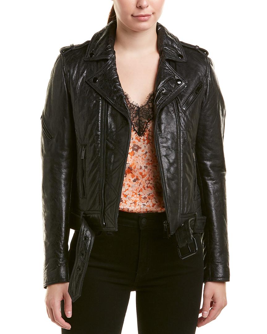 fd0fc628c91 The Kooples Leather Moto Jacket | eBay
