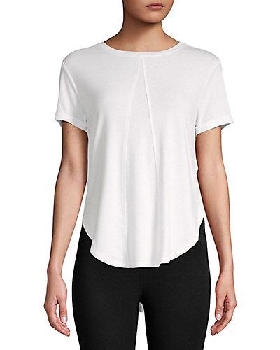Rue La La — Betsey Johnson Performance Draped Open Back T-Shirt