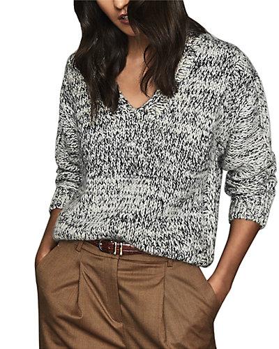 Rue La La — Reiss Flo Wool-Blend Sweater