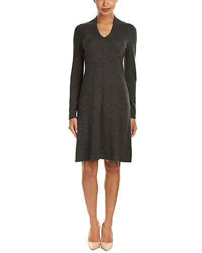 Forte Cashmere Fit & Flare Dress