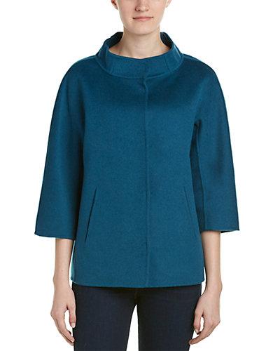 Forte Cashmere Wool & Cashmere-Blend Jacket