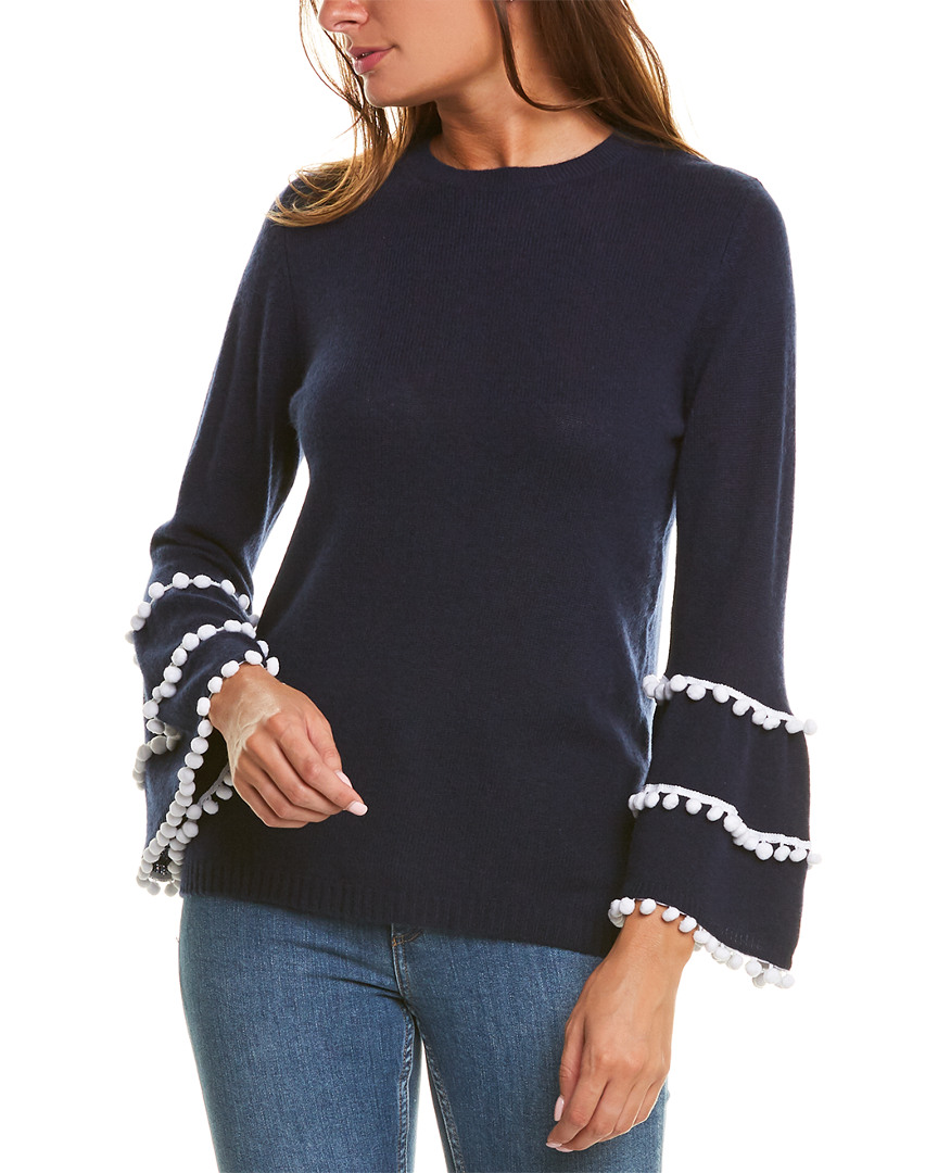 Two-Bees-Cashmere-Cashmere-Sweater-Women-039-s-L