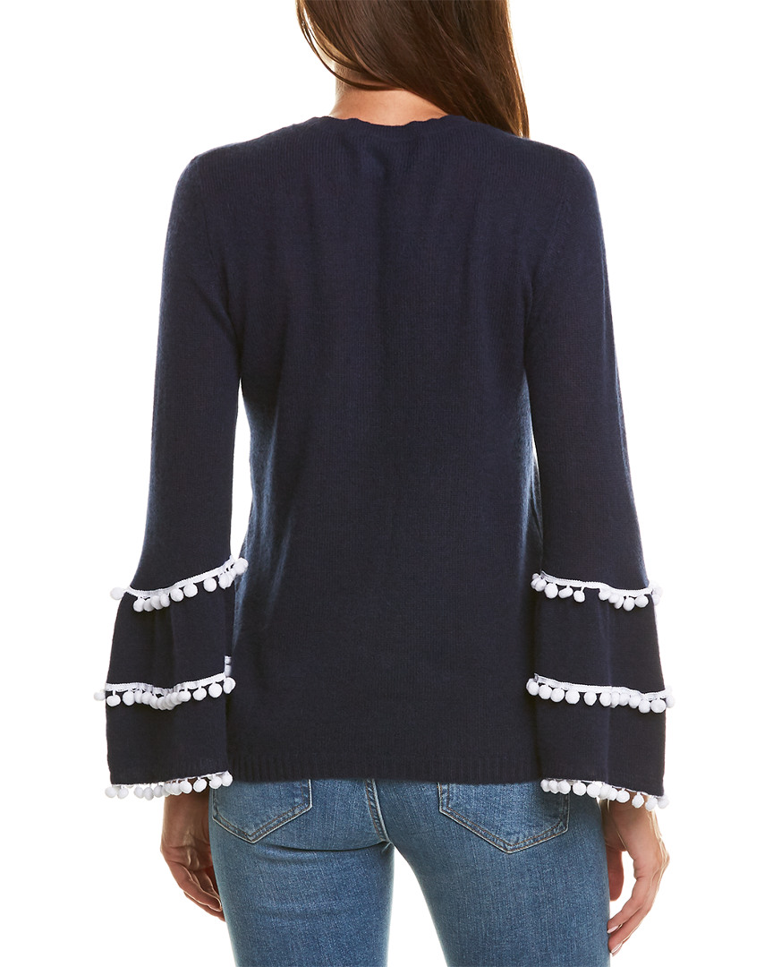 Two-Bees-Cashmere-Cashmere-Sweater-Women-039-s-L miniature 2