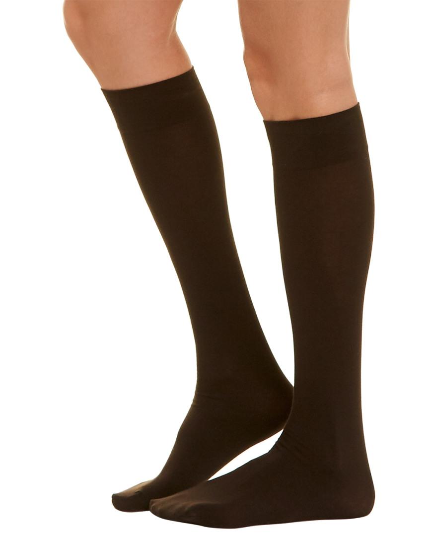 8e06e20eb7c Wolford Cotton Velvet Knee-Highs