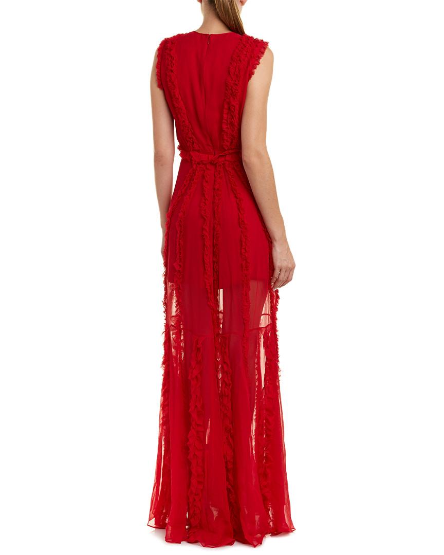 Alexis Malaya Silk Gown   eBay