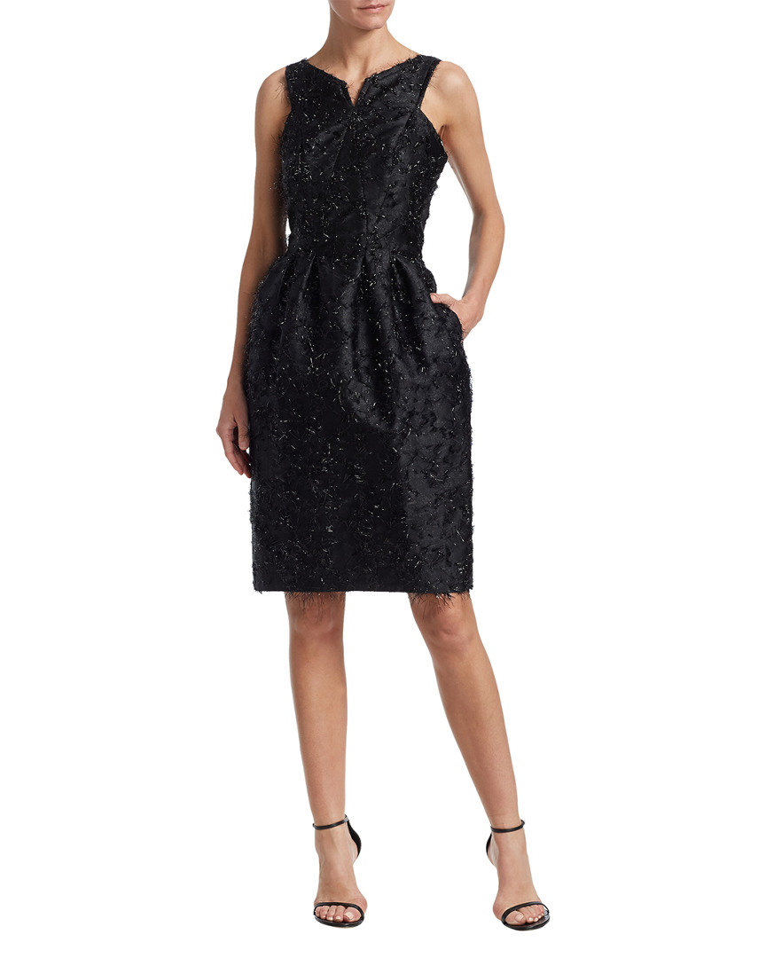 Zac Posen FRINGE SHEATH DRESS