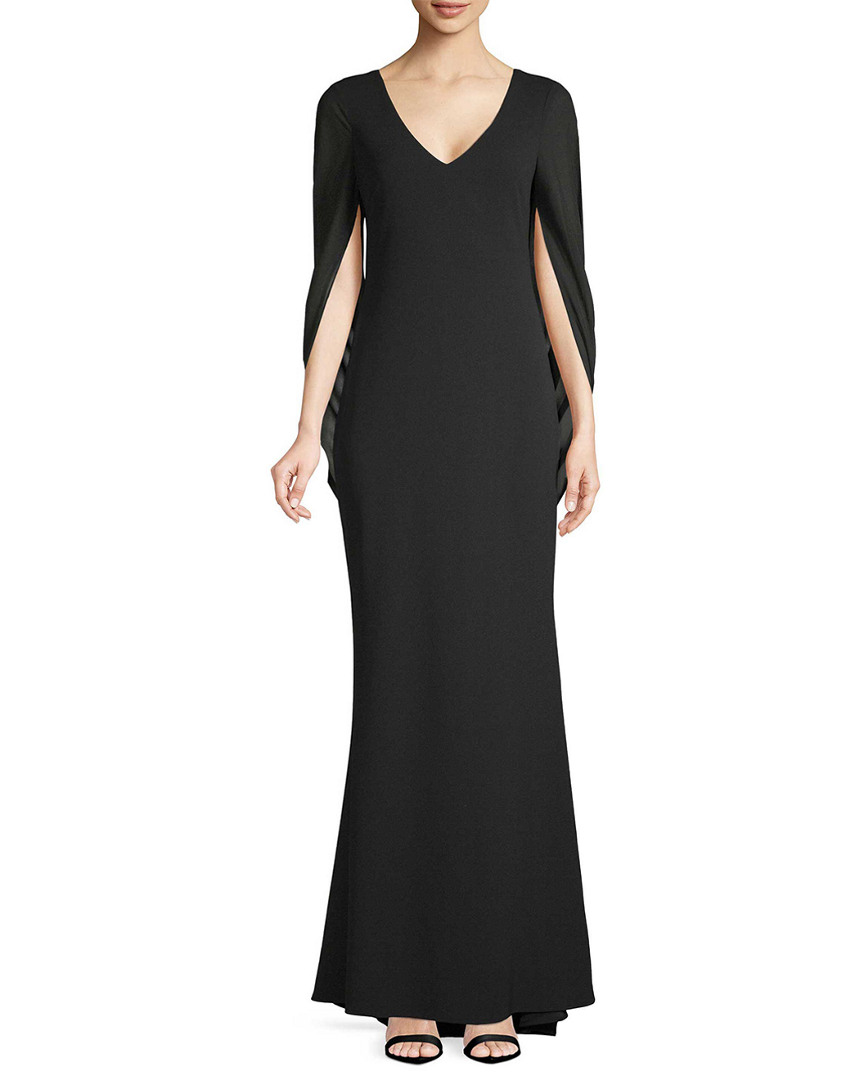 COWL SLEEVE GOWN