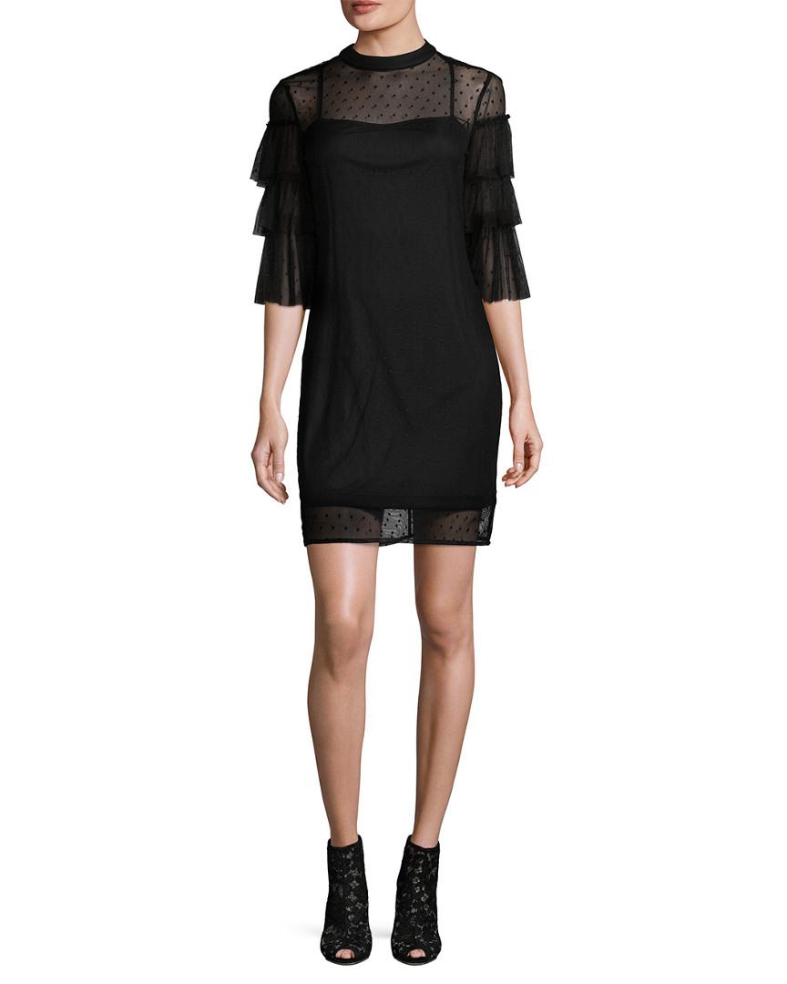 Alexia Admor RUFFLED COCKTAIL DRESS