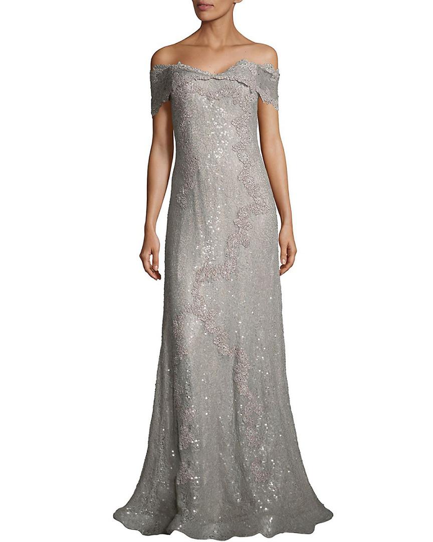 Rene Ruiz Womens Off-The-Shoulder Gown, 10 816525029347 | eBay