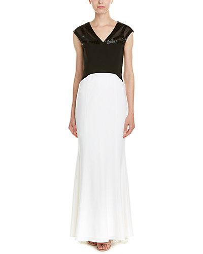 Laundry Platinum by Shelli Segal Gown