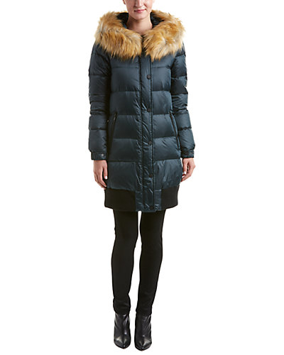 7 For All Mankind Quilted Down Coat