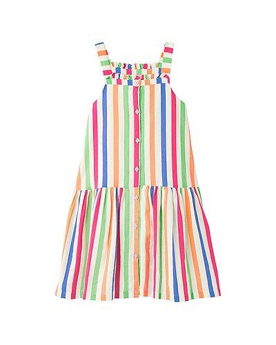 Rue La La — Joules Libby Linen-Blend Dress