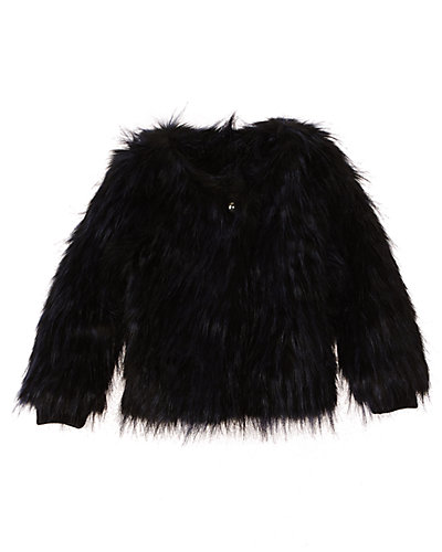 Chloe Girls' Faux Fur Coat