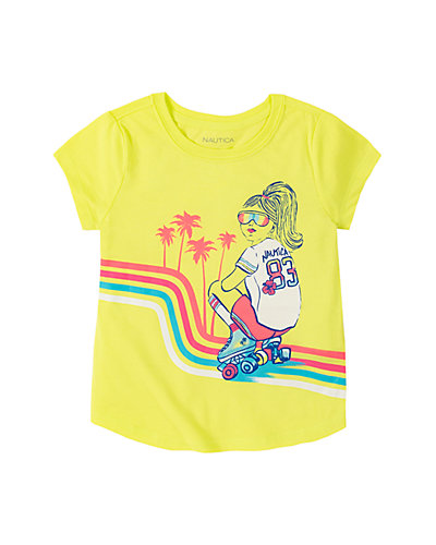 Rue La La — Nautica Roller Girl Graphic T-Shirt
