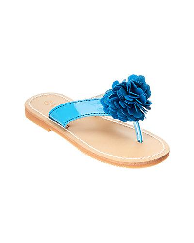 Rue La La — L'Amour Pretty Flower Thong Sandal