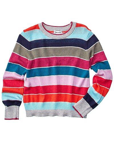Rue La La — Splendid Stripe Wool-Blend Sweater