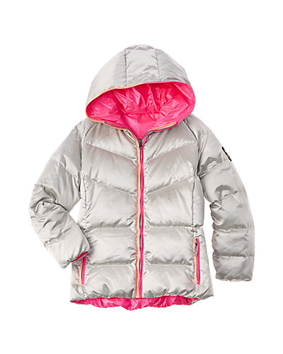 SKEA Girls' Reversible Parka