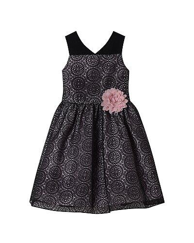 Rue La La — Pastourelle Illusion Burnout Dress