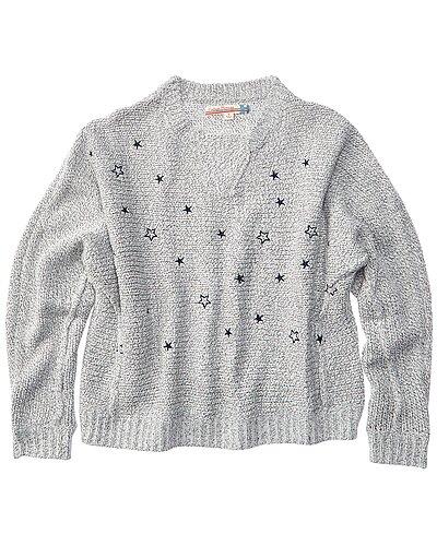 Rue La La — Vintage Havana Embroidered Sweater