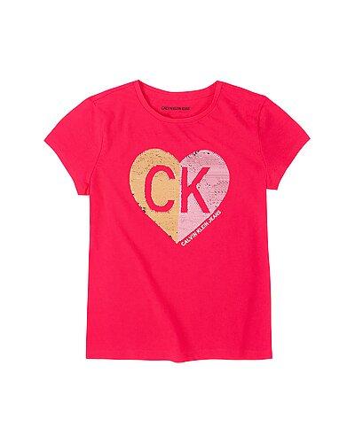 Rue La La — Calvin Klein Smile CK T-Shirt