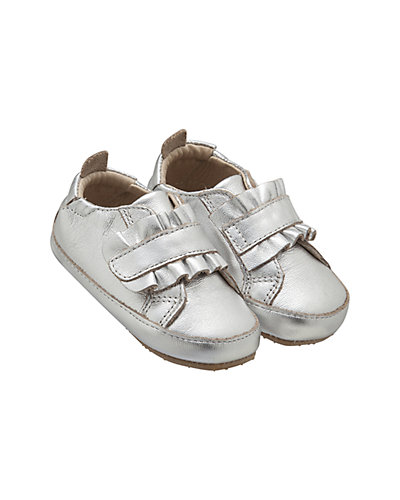 Rue La La — Old Soles Little Frill Leather Shoe