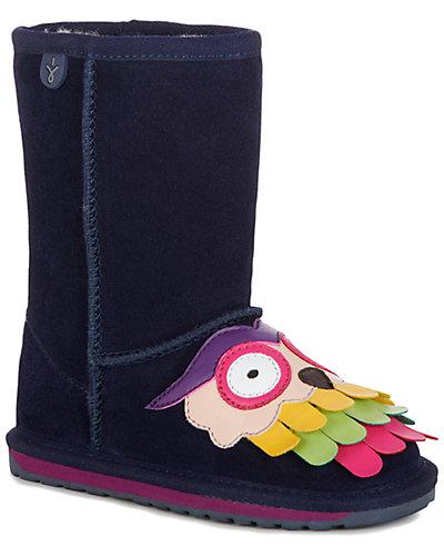 Rue La La — EMU Australia Owl Suede & Wool Boot
