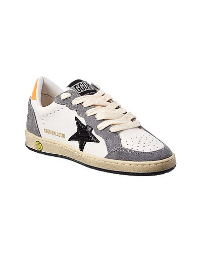 Rue La La — Golden Goose Ball Star Leather & Suede Sneaker