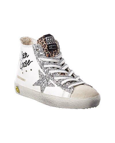 Rue La La — Golden Goose Francy Leather & Suede Sneaker