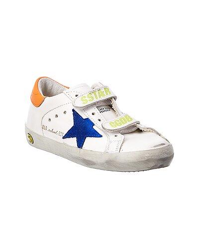 Rue La La — Golden Goose Old School Superstar Leather Sneaker