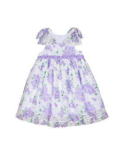 Rue La La — Laura Ashley Floral Shadow Stripe Dress