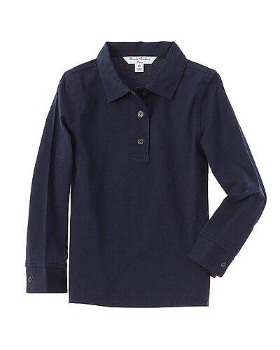 Rue La La — Brooks Brothers Navy Jersey Polo Shirt