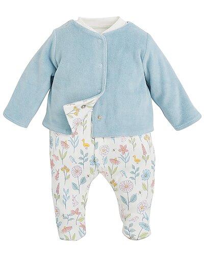 Rue La La — JoJo Maman Bébé 2pc Jacket & Sleepsuit Set