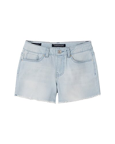 Rue La La — Calvin Klein Boyfriend Cut-Off Denim Short