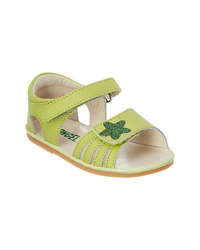 Rue La La — Angel Shoes Girls' Star Leather Sandal