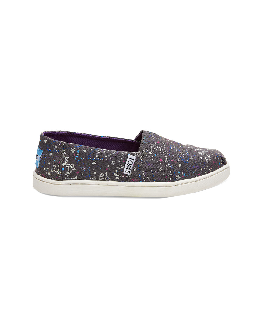 GLOW IN THE DARK OUTER SPACE ALPARGATA ESPADRILLE