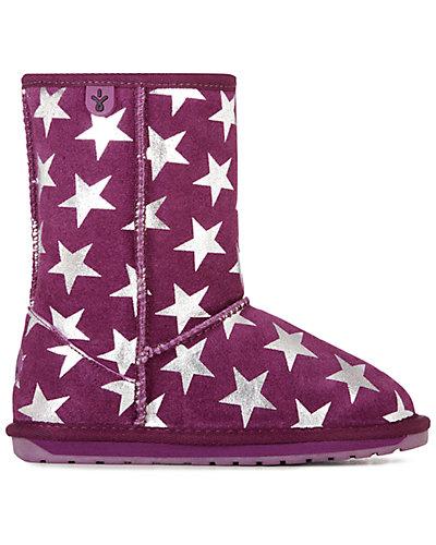 Rue La La — EMU Australia Starry Night Suede & Wool Boot
