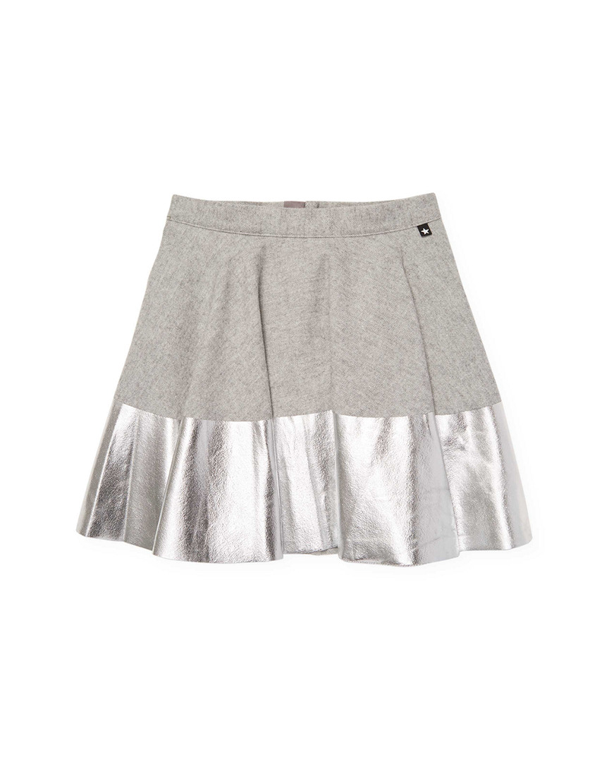 METALLIC RIB SKIRT