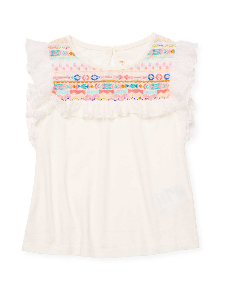 EMBROIDERY BIB TOP