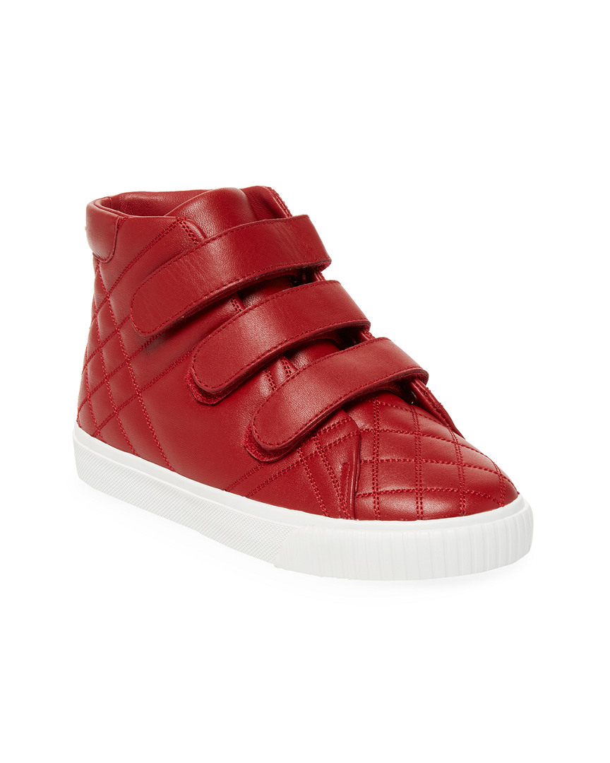 QUILTED LEATHER SNEAKER