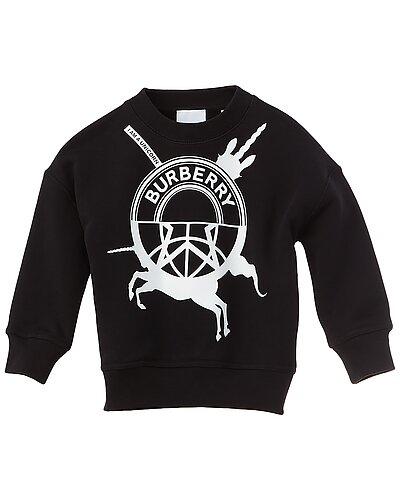 Rue La La — Burberry Unicorn Print Sweatshirt